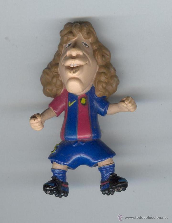 PUYOL, BARÇA TOONS, FIGURA DEL JUGADOR DEL FUTBOL CLUB BARCELONA, LICENCIA F.C. BARCELONA, AÑO 2007. (Coleccionismo Deportivo - Merchandising y Mascotas - Futbol)