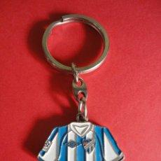 Coleccionismo deportivo: LLAVERO REVERSIBLE CAMISETA MALAGA CF. Lote 45917165