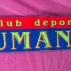 Coleccionismo deportivo: BUFANDA FUTBOL CLUB DEPORTIVO NUMANCIA DE SORIA. Lote 46756407