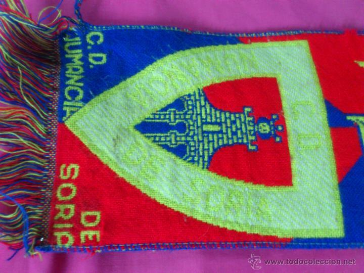 Coleccionismo deportivo: BUFANDA FUTBOL CLUB DEPORTIVO NUMANCIA DE SORIA - Foto 2 - 46756407