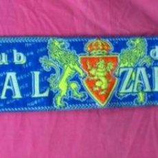 Coleccionismo deportivo: BUFANDA FUTBOL CLUB DEPORTIVO REAL ZARAGOZA. Lote 46023799