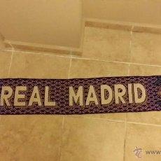 Coleccionismo deportivo: BUFANDA REAL MADRID PRINCIPIO AÑOS 90 . Lote 46048912