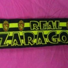 Coleccionismo deportivo: BUFANDA FUTBOL ORIGINAL REAL ZARAGOZA. Lote 46151884