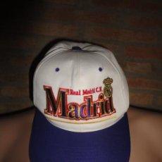 Coleccionismo deportivo: GORRA FUTBOL REAL MADRID CF. Lote 46225386