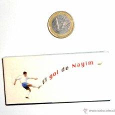 Coleccionismo deportivo: CINE DE MANO.FUTBOL EL GOL DE NAYIM. REAL ZARAGOZA 75 ANIVERSARIO. RECOPA EUROPA PARIS 1995. Lote 46581243