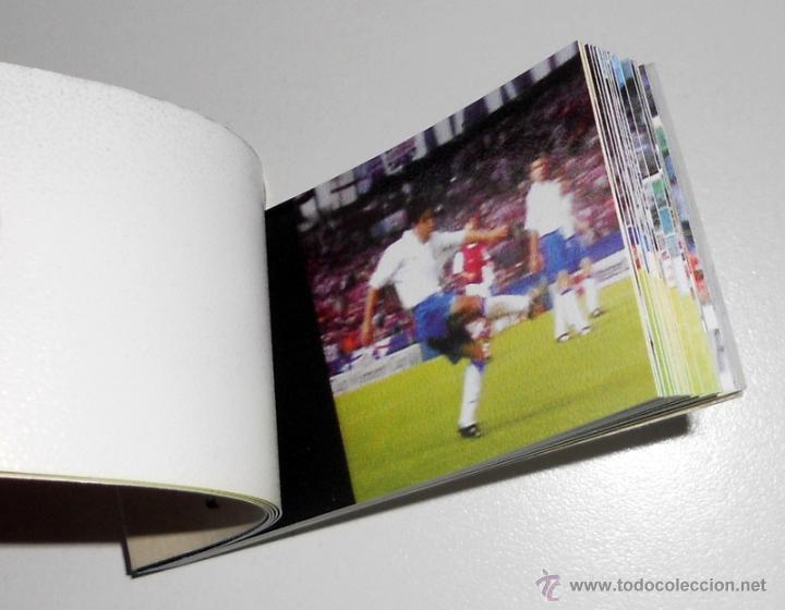 Coleccionismo deportivo: CINE de MANO.FUTBOL EL GOL DE NAYIM. REAL ZARAGOZA 75 ANIVERSARIO. RECOPA EUROPA PARIS 1995 - Foto 3 - 46581243