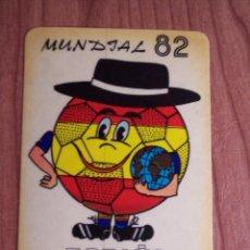 Coleccionismo deportivo: ADHESIVO MUNDIAL'82 (SELECCIÓN ESPAÑOLA) NARANJITO. Lote 46871434