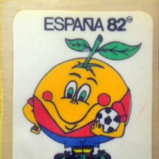 Coleccionismo deportivo: PEGATINA STICKER NARANJITO MUNDIAL FUTBOL ESPAÑA 82 FIFA WORLD CUP FOOTBALL SPAIN 1982. Lote 48925114
