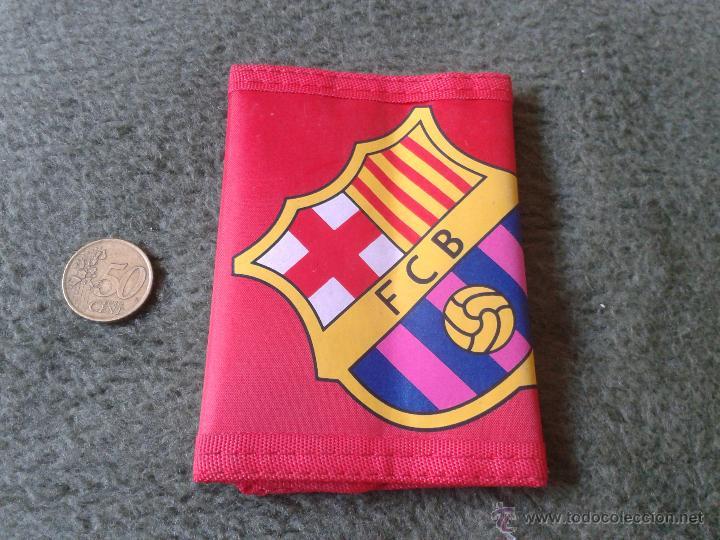BONITA CARTERA / MONEDERO FUTBOL CLUB BARCELONA BARSA. SIN USO. FCB TENGO MAS ARTICULOS DE COLECCION (Coleccionismo Deportivo - Merchandising y Mascotas - Futbol)