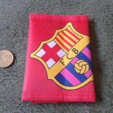 Coleccionismo deportivo: BONITA CARTERA / MONEDERO FUTBOL CLUB BARCELONA BARSA. SIN USO. FCB TENGO MAS ARTICULOS DE COLECCION. Lote 47106416