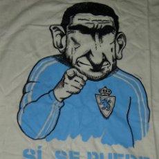 Coleccionismo deportivo: CAMISETA DE FUTBOL PUBLICITARIA.REAL ZARAGOZA,SI SE PUEDE.. Lote 47180459