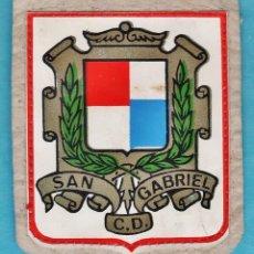 Coleccionismo deportivo: PARCHE TELA - CD SAN GABRIEL - ESCUDO FUTBOL FEMENINO . Lote 47245593