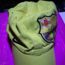 Coleccionismo deportivo: FC BARCELONA / BARÇA - ANTIGUA GORRA NIKE DEPORTIVA ( LOGO BORDADO). Lote 47285070