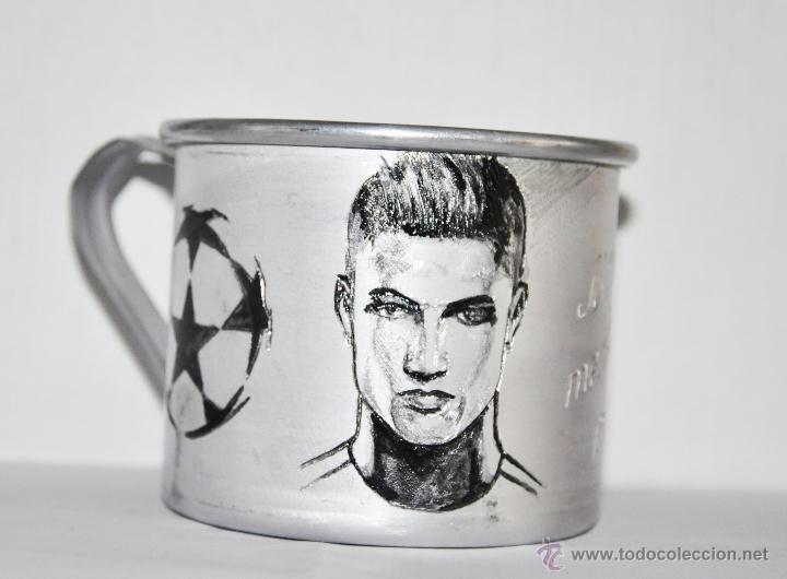 TAZA .CRISTIANO RONALDO .FC REAL MADRID (Coleccionismo Deportivo - Merchandising y Mascotas - Futbol)