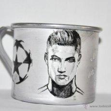 Coleccionismo deportivo: TAZA .CRISTIANO RONALDO .FC REAL MADRID. Lote 47819516