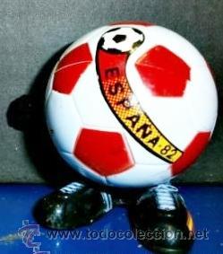 BALON SALTARINES FEBER MUNDIAL FUTBOL 1982 (Coleccionismo Deportivo - Merchandising y Mascotas - Futbol)