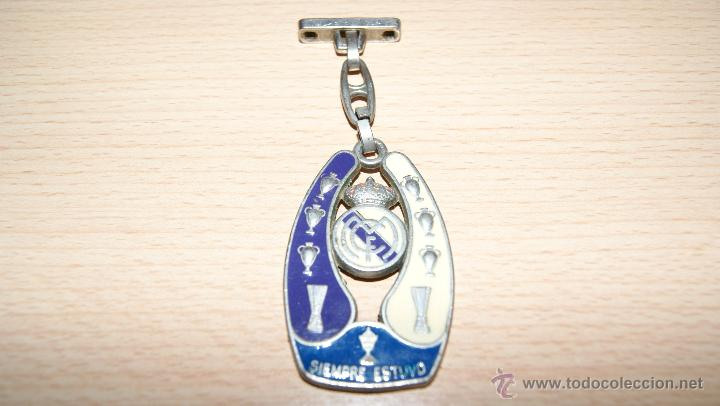 LLAVERO REAL MADRID SIEMPRE FUE SIEMPRE ESTUVO (Coleccionismo Deportivo - Merchandising y Mascotas - Futbol)