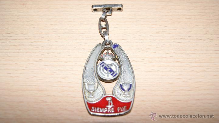 Coleccionismo deportivo: Llavero Real Madrid Siempre Fue Siempre Estuvo - Foto 2 - 48223572