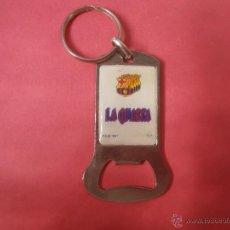 Coleccionismo deportivo: LLAVERO DEL F.C.BARCELONA LA CUARTA. Lote 48251048