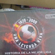 Coleccionismo deportivo: DVD HISTORIA DE LA MEJOR LIGA DEL MUNDO; AÑOS 1950-1955; DI STEFANO CONTRA KUBALA; NUEVO, SIN ABRIR . Lote 48304576