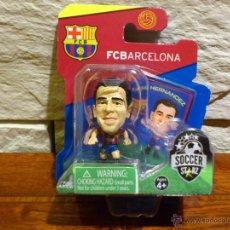Coleccionismo deportivo: FC BARCELONA - SOCCERSTARZ - XAVI - XAVI HERNANDEZ - FIGURA - FUTBOL - PRECINTADO - BLISTER - NUEVO. Lote 48359514
