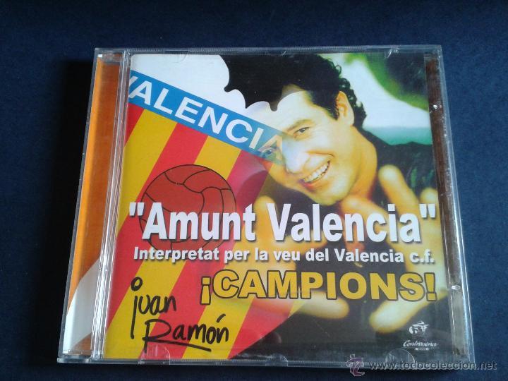 CD NUEVO SIN PRECINTAR AMUNT VALENCIA ¡CAMPIONS! VCF CLUB DE FÚTBOL CAMPEÓN DE LIGA JUAN RAMÓN (Coleccionismo Deportivo - Merchandising y Mascotas - Futbol)