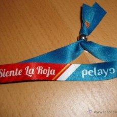 Coleccionismo deportivo: PULSERA DE LA SELECCIÓN ESPAÑOLA. Lote 48477637