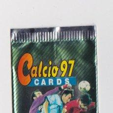 Coleccionismo deportivo: SOBRE VACIO (NO CONTIEN CROMOS) - COLECCION CALCIO CARDS 1997 PANINI. Lote 48561827