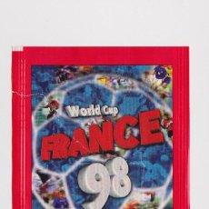 Coleccionismo deportivo: SOBRE VACIO (NO CONTIEN CROMOS) - COLECCION MUNDIAL FRANCIA 1998 EDITORIAL DS. Lote 48561894