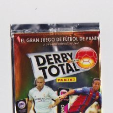 Coleccionismo deportivo: SOBRE VACIO (NO CONTIEN CROMOS) - COLECCION DERBY TOTAL 2004 2005 PANINI. Lote 48561958