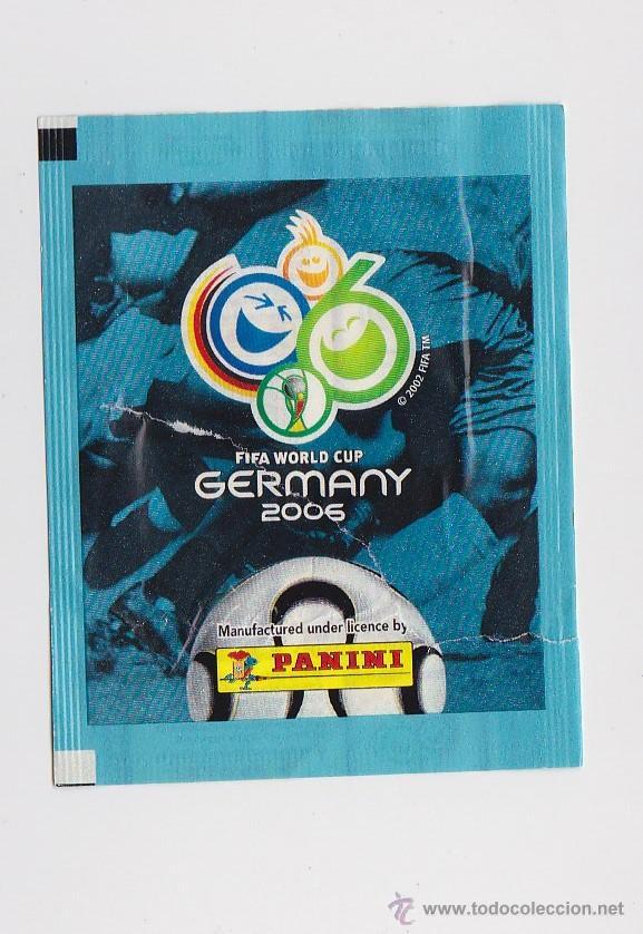 SOBRE VACIO (NO CONTIEN CROMOS) - MUNDIAL ALEMANIA 2006 PANINI (Coleccionismo Deportivo - Merchandising y Mascotas - Futbol)