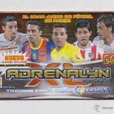 Coleccionismo deportivo: SOBRE VACIO (NO CONTIEN CROMOS) - COLECCION ADRENALYN 2010 2011 PANINI - VERSION CAZORLA . Lote 48561995