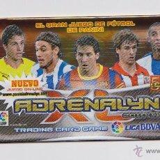 Coleccionismo deportivo: SOBRE VACIO (NO CONTIEN CROMOS) - COLECCION ADRENALYN 2010 2011 PANINI - VERSION MESSI . Lote 48561999