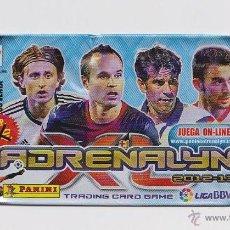Coleccionismo deportivo: SOBRE VACIO (NO CONTIEN CROMOS) - COLECCION ADRENALYN LUGA 2012 2013 PANINI. Lote 48562248