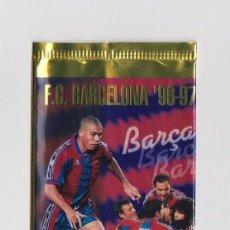 Coleccionismo deportivo: SOBRE VACIO (NO CONTIEN CROMOS) - COLECCION FC BARCELONA 96 97 PANINI OFICIAL . Lote 142092742