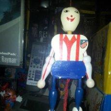 Coleccionismo deportivo: MARIONETA DE FUTBOLISTA ATLETICO DE MADRID. Lote 48563449