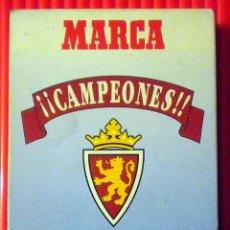 Colecionismo desportivo: CINTA VHS EDICION CONMEMORATIVA TRIUNFO REAL ZARAGOZA COPA DEL REY 1994. Lote 48670871