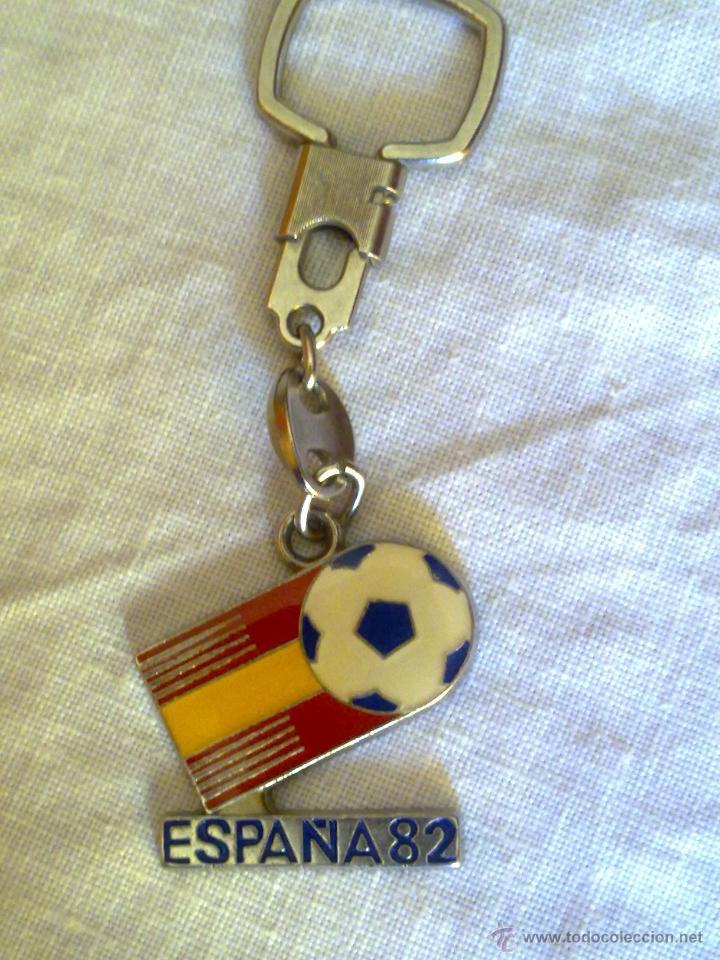 MUNDIAL ESPAÑA 82 LLAVERO R.F.E.F. 1979 VER FOTOS (Coleccionismo Deportivo - Merchandising y Mascotas - Futbol)