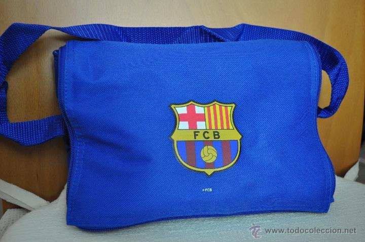 NEVERA PORTATIL CON RADIO FM DEL FC. BARCELONA (Coleccionismo Deportivo - Merchandising y Mascotas - Futbol)