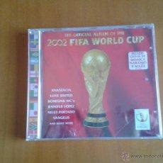 Coleccionismo deportivo: CD NUEVO PRECINTADO ÁLBUM OFICIAL COPA DEL MUNDO DE FÚTBOL MUNDIAL 2002 FIFA. Lote 48758073