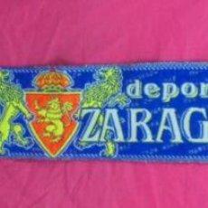 Coleccionismo deportivo: BUFANDA FUTBOL CLUB DEPORTIVO REAL ZARAGOZA OFICIAL. Lote 84724332