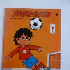Coleccionismo deportivo: SPORT BILLY MASCOTA OFICIAL DE LA FIFA 82 LIBRO PARA COLOREAR Nº 2 EDITORIAL ROMA 1982. Lote 48891117