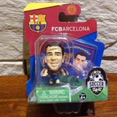 Coleccionismo deportivo: FC BARCELONA - SOCCERSTARZ - XAVI HERNANDEZ - FIGURA E - FUTBOL - PRECINTADO - BLISTER - NUEVO. Lote 48937563
