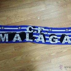 Coleccionismo deportivo: BUFANDA CLUB FÚTBOL MÁLAGA. Lote 48962602
