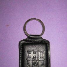 Coleccionismo deportivo: LLAVERO F. C. BARCELONA PIEL.. Lote 49135207