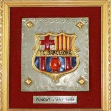 Coleccionismo deportivo: CUADRO F. C. BARCELONA. FUNDAT L´ANY 1899. Lote 49280093