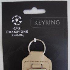 Coleccionismo deportivo: FC BARCELONA - BARÇA - LLAVERO OFICIAL FINAL CHAMPIONS ROMA 2009. Lote 49289461