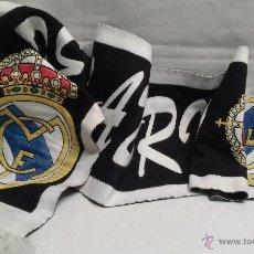 Coleccionismo deportivo: REAL MADRID CLUB DE FUTBOL BUFANDA. Lote 49378823