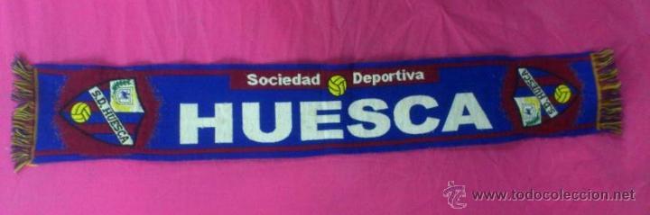 bufanda futbol Sociedad Deportiva Huesca Huesquino S.A.D aragon