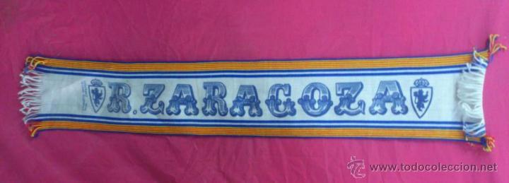 BUFANDA SCARF FUTBOL REAL ZARAGOZA (Coleccionismo Deportivo - Merchandising y Mascotas - Futbol)